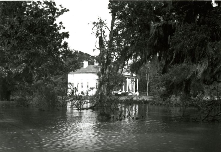 Hampton plantation during flood on the santee river in for Catalogue plantation
