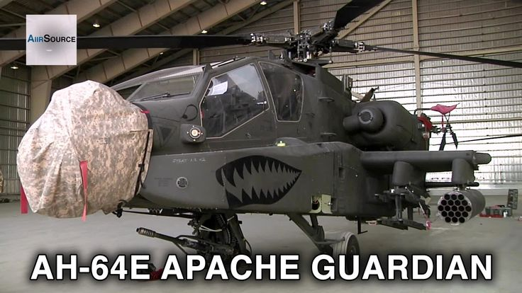 US Army's Newest AH-64E Apache Guardian Helicopter