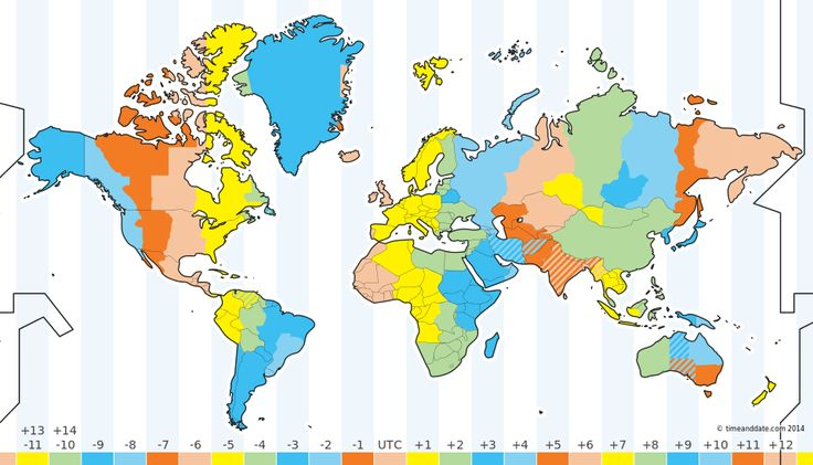Timeanddate.com | Time zone map and international meeting planner for multiple time zones and lots more!