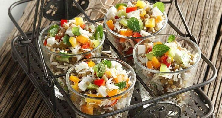 Σαλάτα με φακές φούρνου