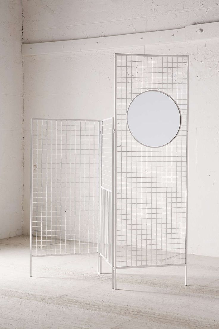 Layered Lines Screen Room Divider - Urban Outfitters