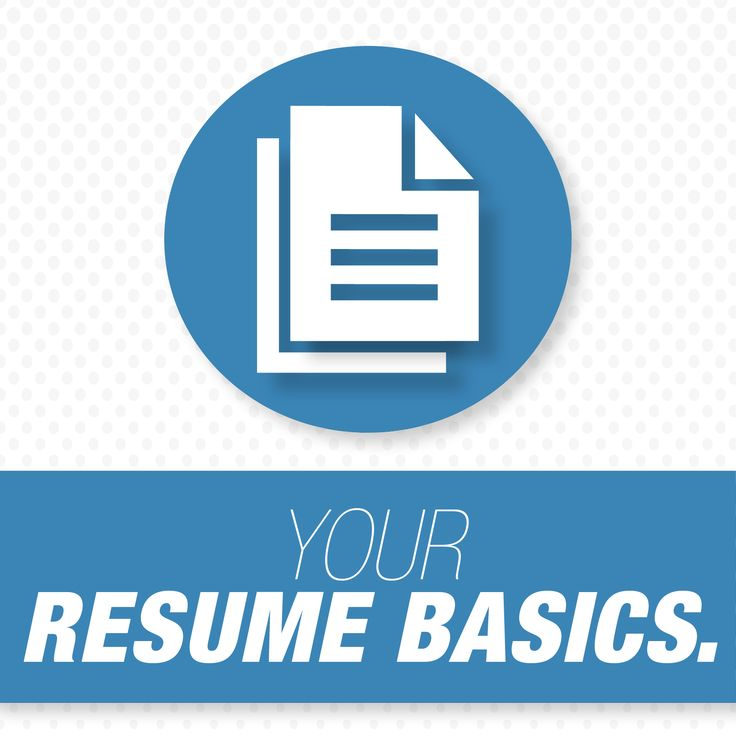 Creating Your Resume From Scratch Or Maybe Just Updating It? Read This  Basic Resume Tips · Job Search ...