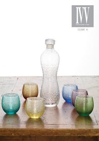 IVV Product Brochure | issue 4 |  IVV was established back in 1952 by a group of Italian master glassmakers. In this brochure, you will find IVV products available for purchase in Australia via Noritake Australia.