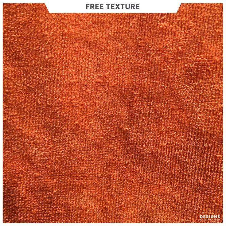 Orange fabric texture.