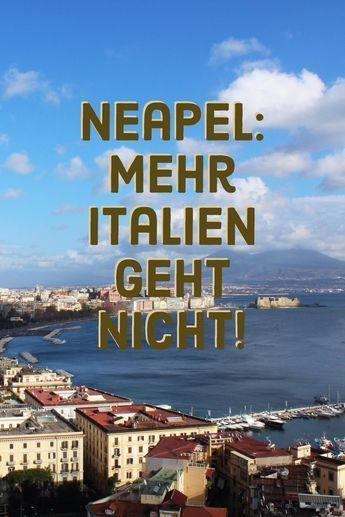 Neapel? Ja, Neapel! Vergesst mal Mafia und Verkehrschaos. Klar, in der Hauptstadt von Kampanien läuft längst nichts alles rund. Aber Neapel ist quirlig, spannend, lebendig. Italien at it's best.