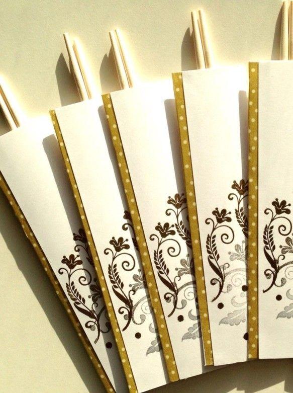 5膳セットです。金&銀で飾りました。|ハンドメイド、手作り、手仕事品の通販・販売・購入ならCreema。