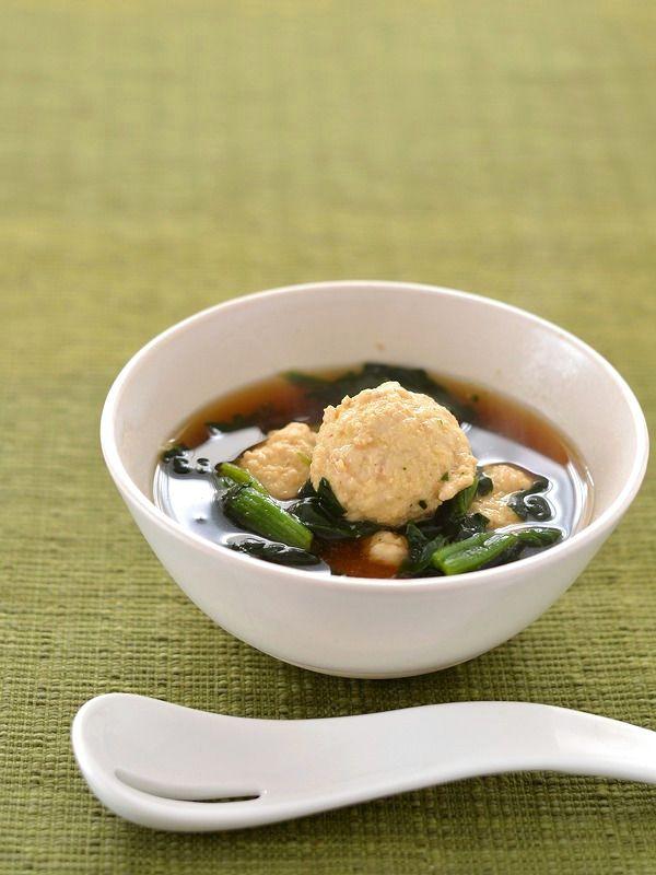 鶏団子とほうれん草のスープ by ロマンスグレーガール | レシピサイト「Nadia | ナディア」プロの料理を無料で検索