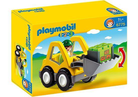 Playmobil 123 Graafmachine Met Werkman - 6775