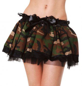 Army Camouflage Adult Tutu - Army Fancy Dress Ideas