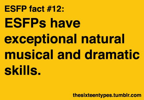 Can't say I'm exceptional ;), but I'm quite a bit of a drama queen and I adore music. :-P