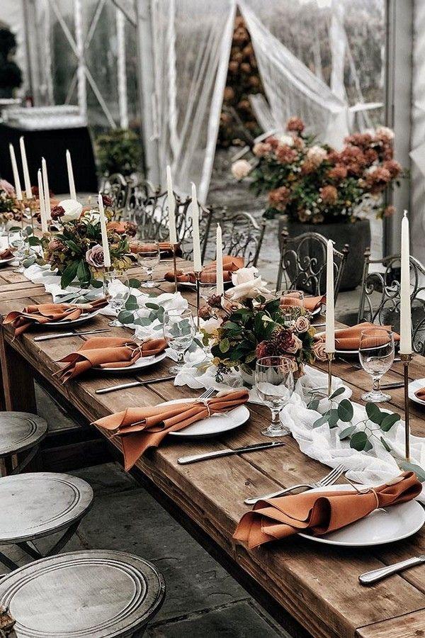 24 rustikale Rost-Hochzeits-Farbideen – Sommerliebe Papeterie