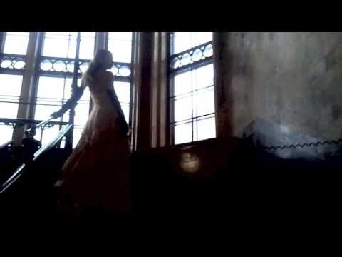 Making of Ninaco Couture Spirit Collection Model Noora wearing long evening gown www.ninaco.co