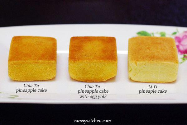 Chia Te & Li Yi Pineapple Cakes