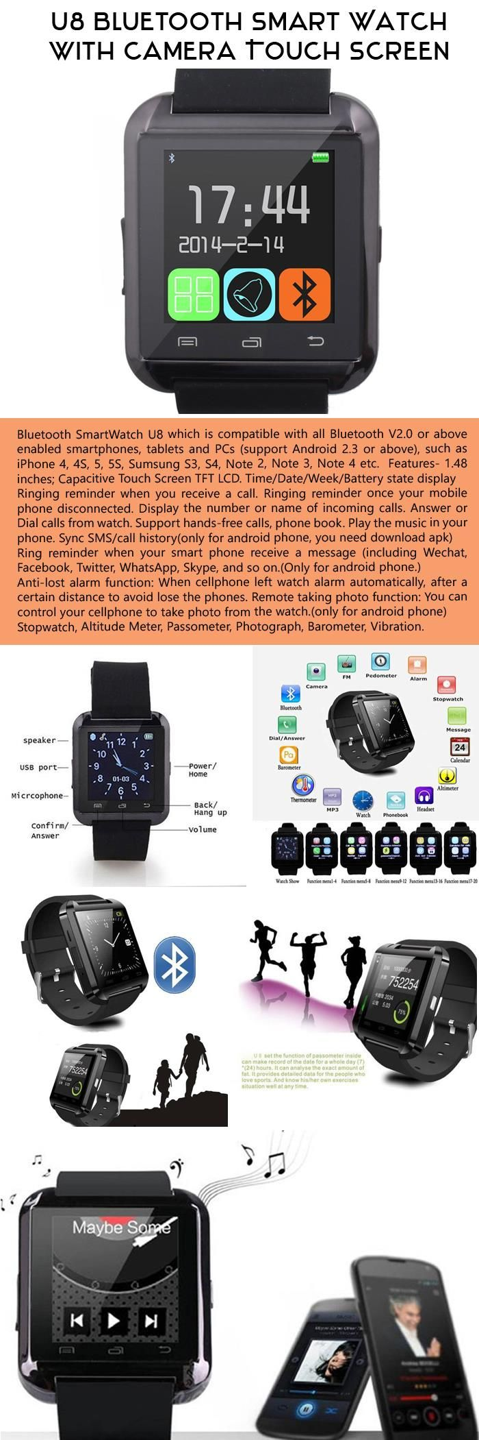 It's a Bluetooth Wristwatch that does so much, it almost eliminates the need for a spouse. Almost.