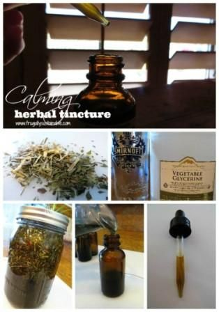 How to Make a Calming Herbal Tincture Recipe. Learn how to make calming herbal tincture to calm your nerves and avoid or lessen stress, chronic fatigue, anxiety, hyperactivity, insomnia and migraines...