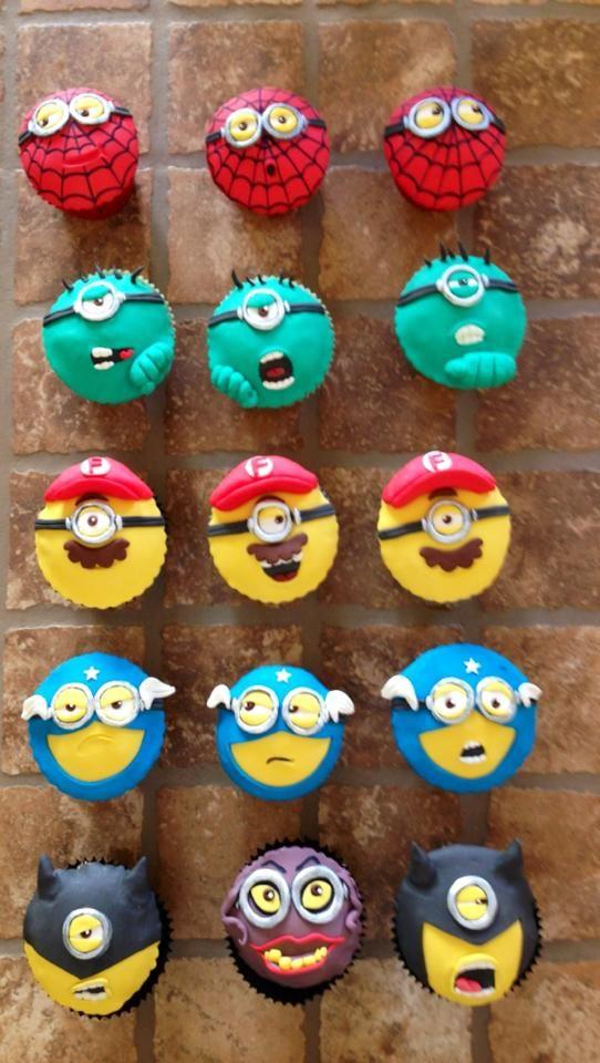 Minions Cupcake Design | minions-cupcakes