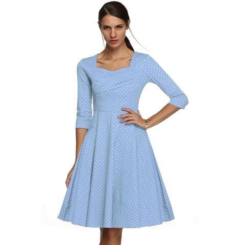 Sunday Morning Brunch Dress - Vintage Dresses - Addy's Dress