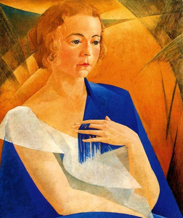 Gallery.ru / Фото #3 - Чупятов Леонид Терентьевич (1890-1941) - Портрет женщины.