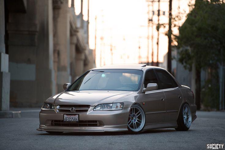 White Rims Honda Accord Photos