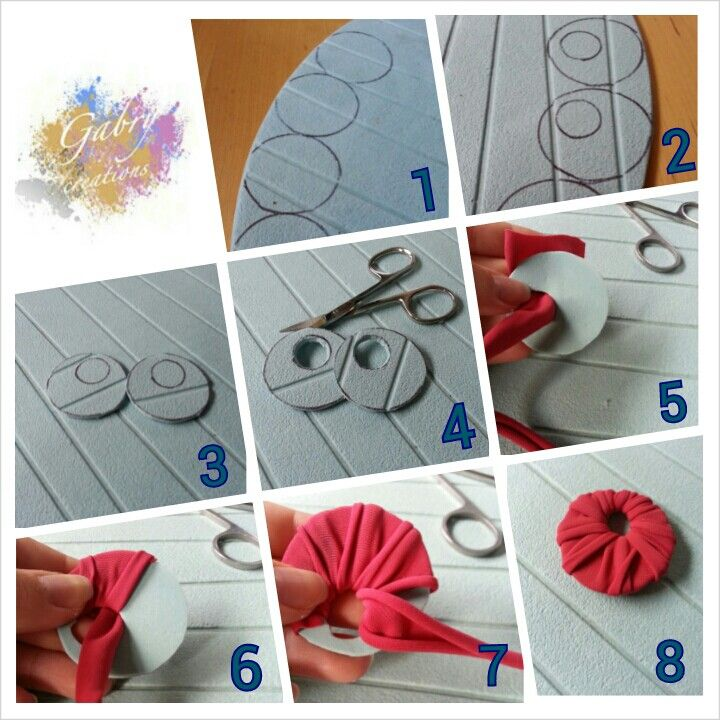 How to create jersey earrings