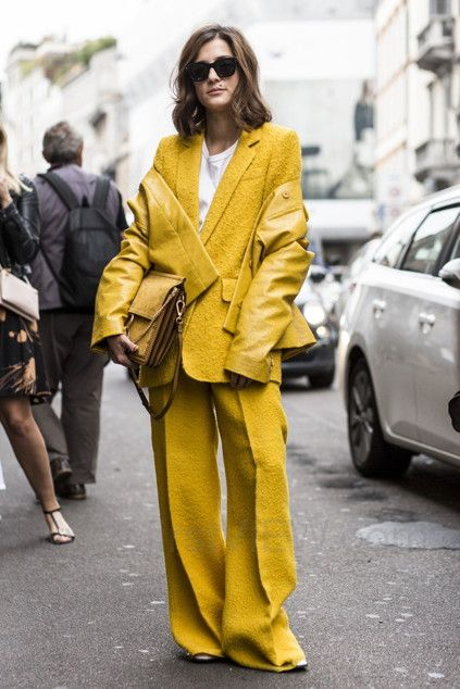 Head to Toe in Yellow | STYLEBOP