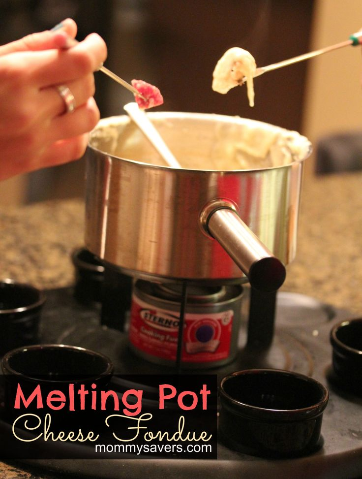 how to make a fondue pot at home