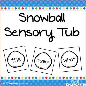 sensory table, sensory tub, kindergarten sensory,Winter literacy center