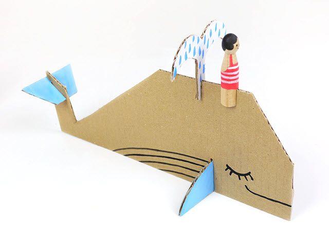 baleine en carton