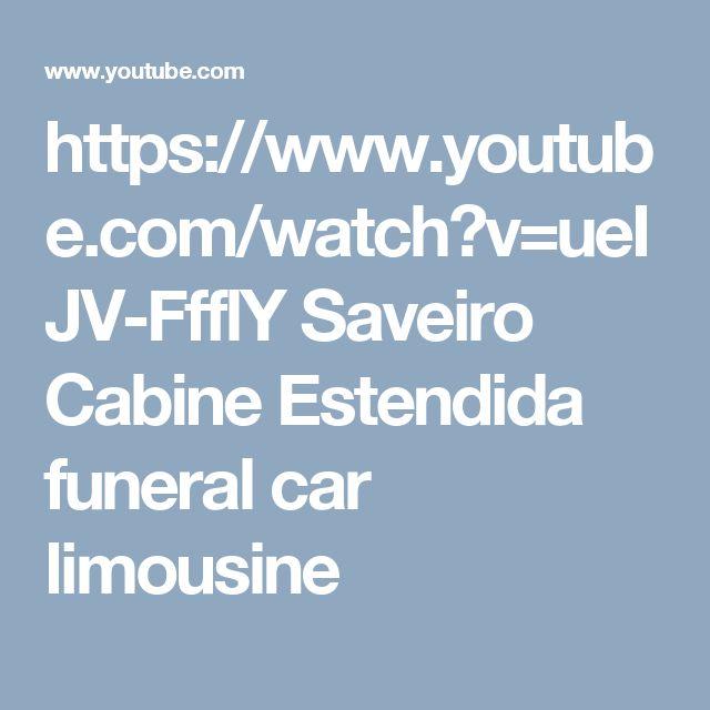 https://www.youtube.com/watch?v=ueIJV-FfflY  Saveiro Cabine Estendida funeral car limousine