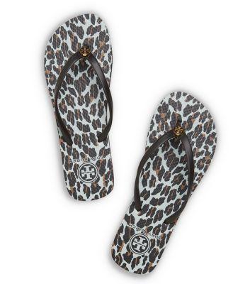 Leopard print Tory Burch flip flops- great neutral!  Just got them today!!