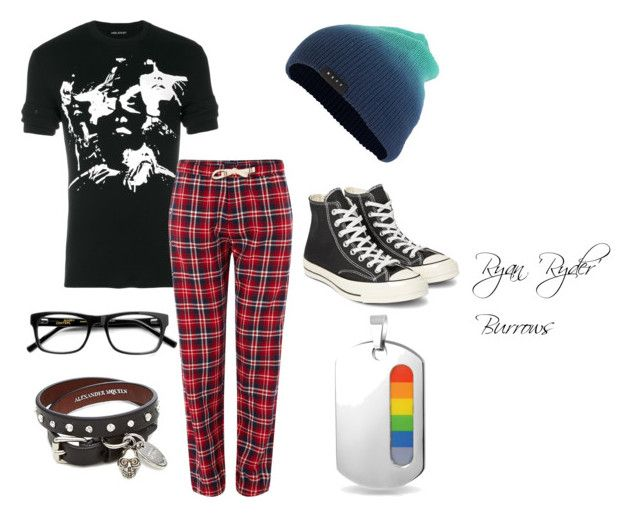 """""""Ghost clothes"""" by marauderslife on Polyvore featuring Neil Barrett, Tommy Hilfiger, Neff, Alexander McQueen, Converse and Bling Jewelry"""