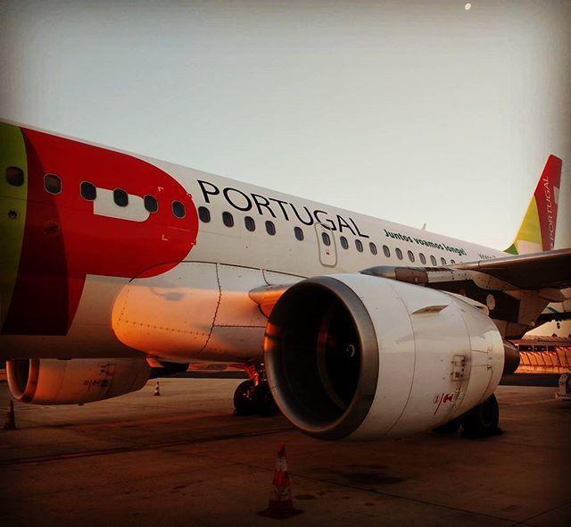 O prazer de voar o Eusébio que transportou os campeões europeus! #flytap #lisbonairport #tapportugal