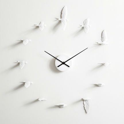 The swallow symbolizes luck and hope. May this clock give you the wings of good fortune and make you fly up high in life.