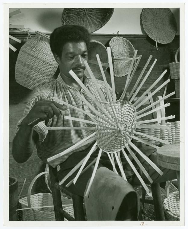 History Of Basket Weaving : The best images about baskets weaving in history on
