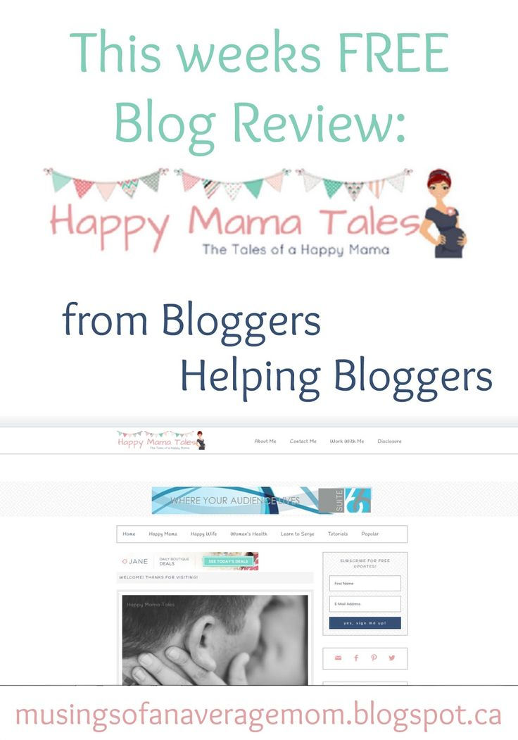 Musings of an Average Mom: Happy Mama Tales Review