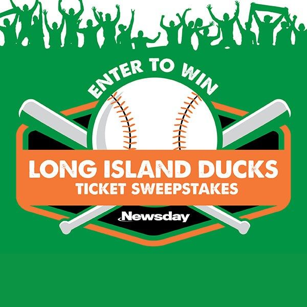 Check out the Newsday Ducks Ticket Sweepstakes  - I just entered here!
