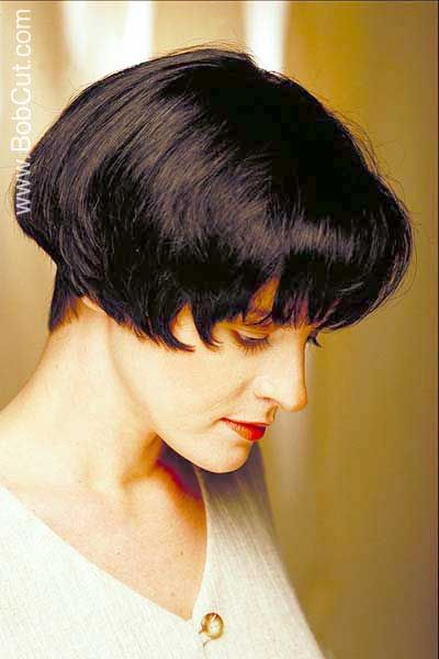 Short Wedge Hairstyles | black very short wedge hairstyle picture