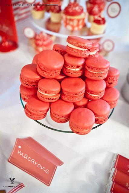 Macarons for Valentines