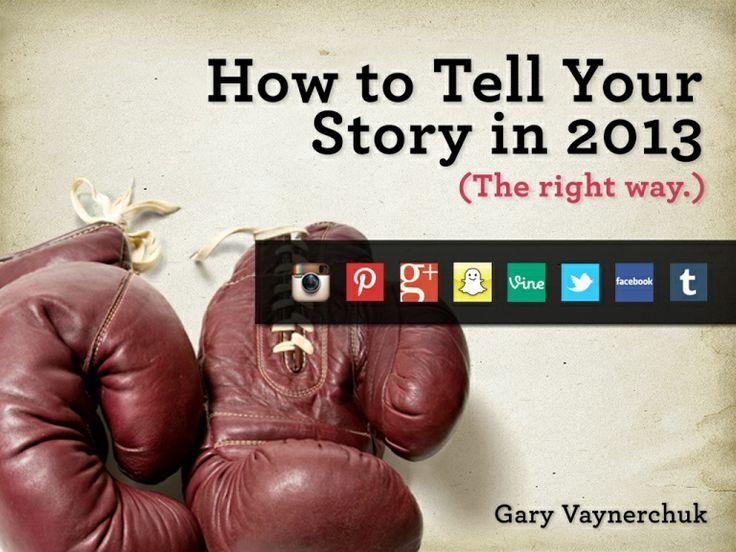 Storytelling in 2013