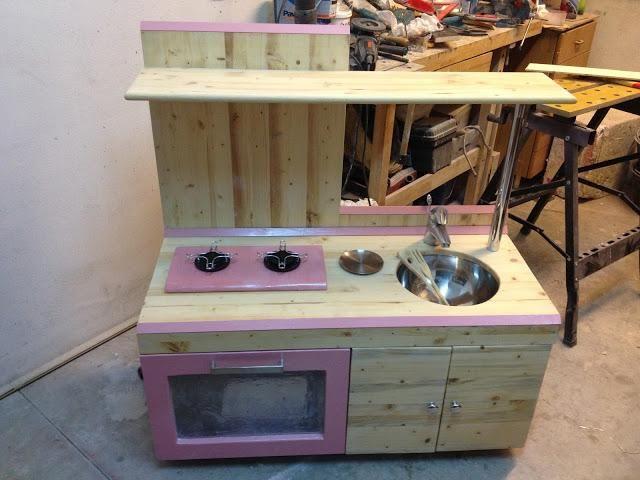 Come costruire una cucina per bambini di legno | Nicco ...