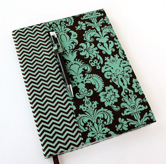 Composition notebook cover - fabric cover -