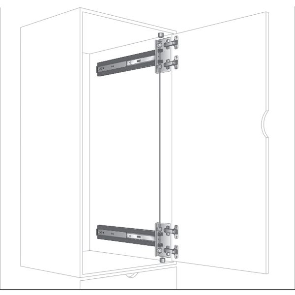 Kv Free Swing Inset Hinge Kit 8080 8092 Pocket Door