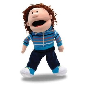 This Tellatale puppet is going to be my new teaching assistant