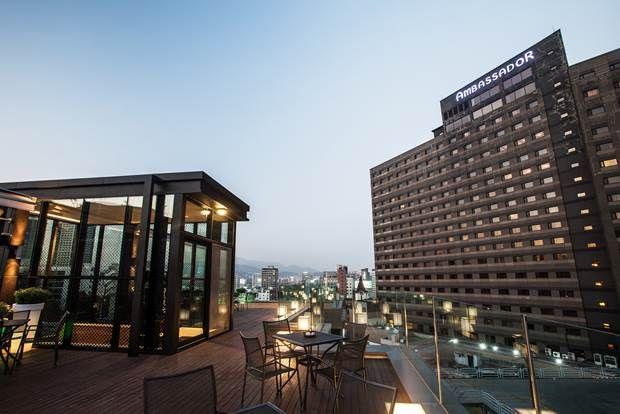 앰배서더 호텔 역사박물관 의종관 옥상 테라스 Rooftop of Ambassador Hotel Museum