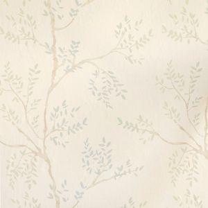 Laura ashley elwood wallpaper eau de nil wallpapers for Eau de nil bedroom ideas