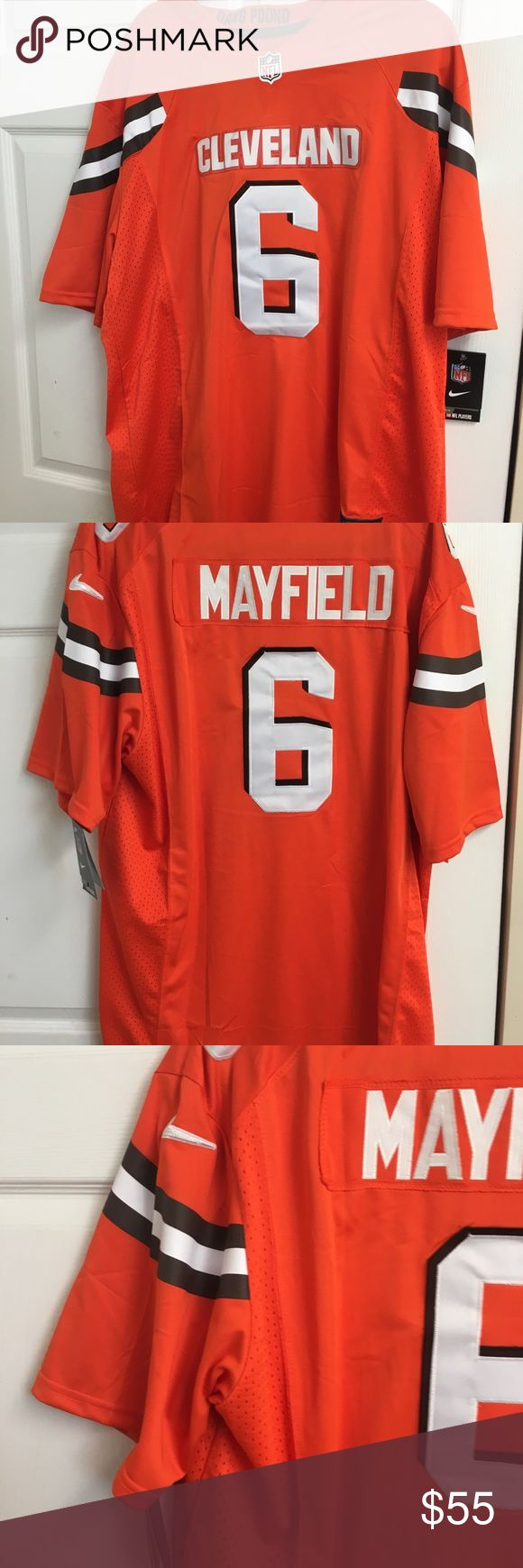 New Nike Baker Mayfield Jersey NWT Nike shirts, Clothes