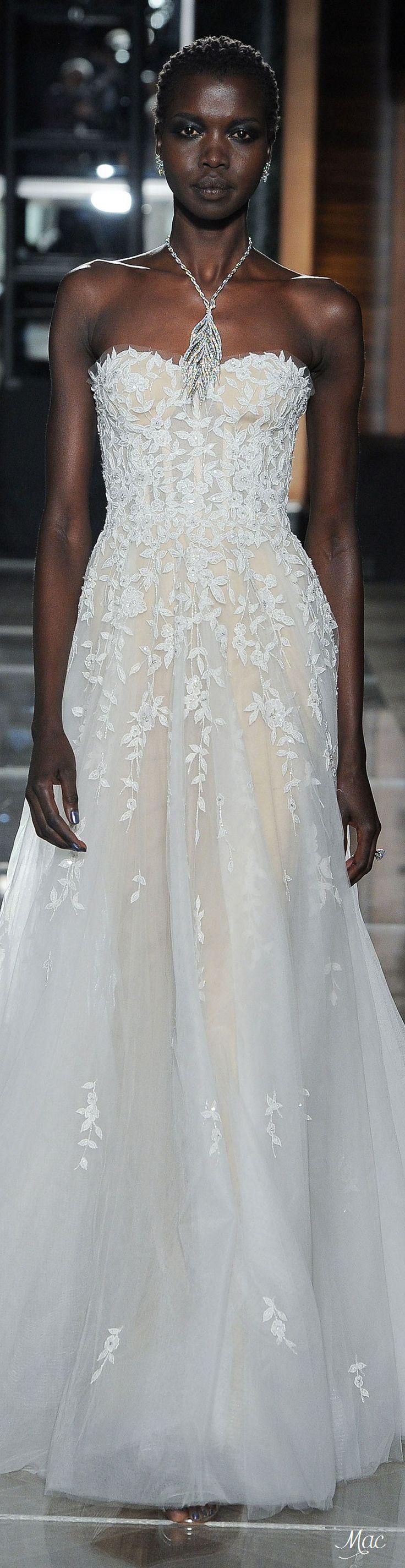 Spring 2018 Bridal Reem Acra   Gorgeous fashion