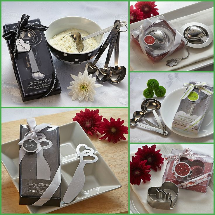 Metal Heart Favors from HotRef.com
