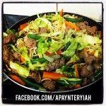 Beef chow mein (YIAHised)