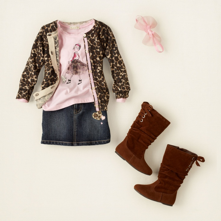 baby girl - outfits - fancy feline - lots of spots | Children's Clothing | Kids Clothes | The Children's Place